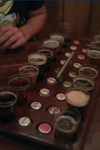 Russian River beer samples