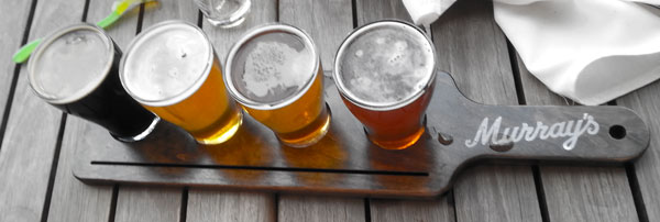 Beer Paddle at Rubber Duckie Taphouse