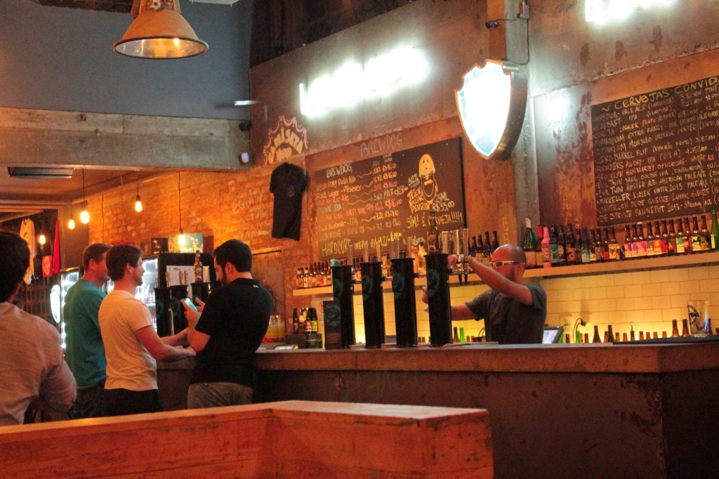 BrewDog bar in Sao Paulo