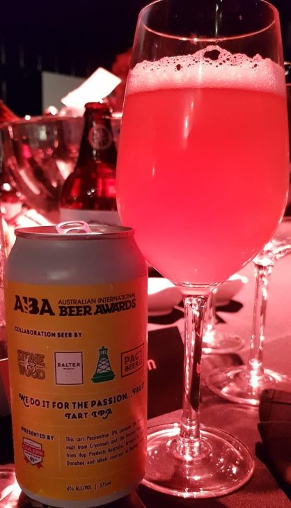 AIBA 2017 winners collab beer
