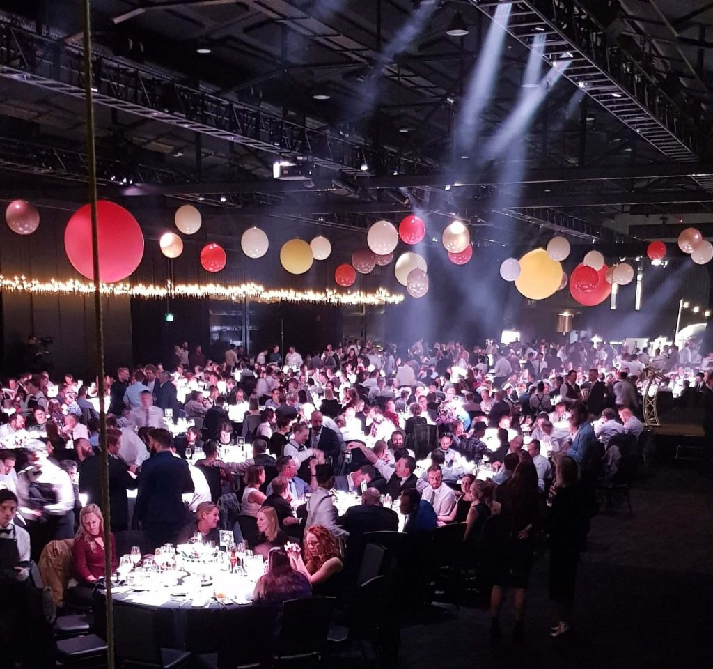 AIBA awards gala dinner