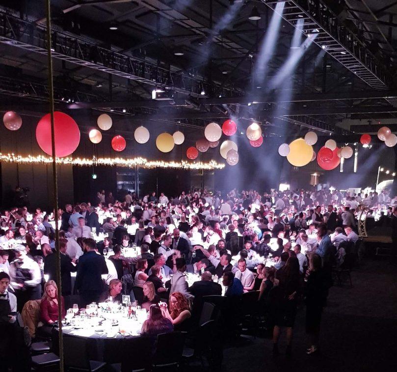 AIBA awards gala dinner