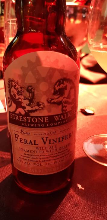 Firestone Walker barrel aged treat
