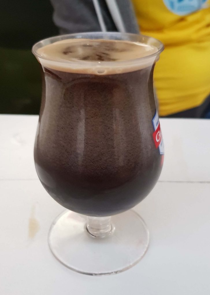 Chocolate milkshake on nitro